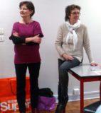 Atelier du 3 février-3-Accueil-Claude et Elisabeth, bénévoles