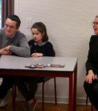 Atelier du 3 février-3-Accueil-Laura et son papa Aliette