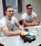 Atelier du 3 février-4-Jeux-table 2-Paco et Clément, le tandem de bénévoles de choc !